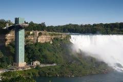 Observatory on Niagara Falls Stock Photos