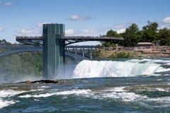 Observatory on Niagara Falls Stock Photography