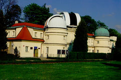 Observatory on Petrin Hill. Stock Photos