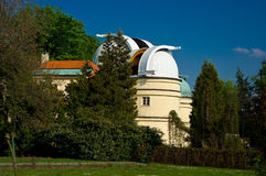 Observatory on Petrin Hill. Royalty Free Stock Photos