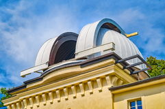 Observatory on Petrin Hill, Prague, Czech Republic Royalty Free Stock Images