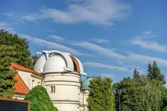Observatory in Prague. Czech Republic stock photo