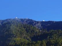 Observatory on Roque de los Muchachos, La Palma Stock Image