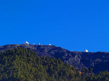 Observatory on Roque de los Muchachos, La Palma Stock Photo