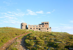 Observatory ruins on mountain top Stock Photos
