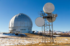 Observatory science mountains Stock Image