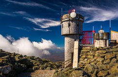 The Observatory on the summit of Mount Washington, New Hampshire Royalty Free Stock Images