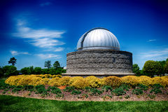 Observatory on sunny day Royalty Free Stock Photos