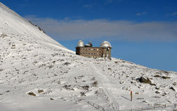 The observatory in Tatras. Royalty Free Stock Photo