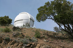 Observatory Telescope Dome Royalty Free Stock Photos