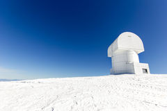 Observatory on the top of the mountain Stock Photography