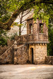 Observatory tower in Quinta da Regaleira Stock Photography