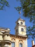Observatory tower in Vilnius university. Stock Images