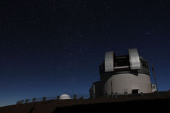 Observatory Under the Stars stock image