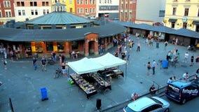 Observe New Square of Kazimierz, Krakow, Poland