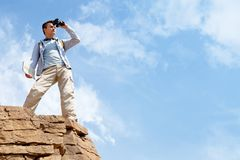 Observing area Royalty Free Stock Image