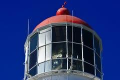 Obserwacja pokład z czerwień dachem zdjęcie royalty free