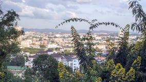Obserwacja pokład, miasto Pattaya obrazy royalty free