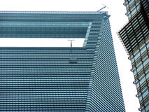 Obserwacja pokład Szanghaj centrum finansowego Światowy obserwatorium Zdjęcie Stock