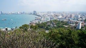 Obserwacja pokład Pattaya Obraz Royalty Free