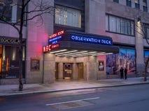 Obserwacja pokład Rockefeller centrum Obraz Stock