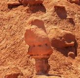 Obserwator dziwożony Hoodoo dziwożony stanu Dolinny park Utah Zdjęcie Stock