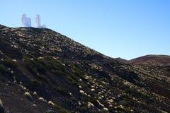 obserwatorium astronautyczny Tenerife Obraz Royalty Free