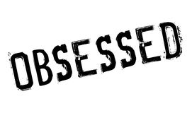 Obsessed rubber stamp Royalty Free Stock Image