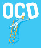 Obsessive compulsive disorder Stock Images