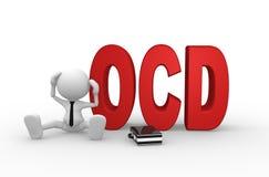 Obsessive compulsive disorder Stock Image