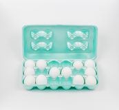 Obsessive Compulsive Disorder OCD Carton of Eggs Royalty Free Stock Photo