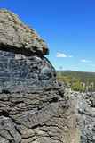 obsidian βράχοι Στοκ Φωτογραφίες