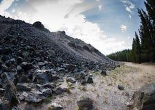 Obsidian ροή Στοκ φωτογραφία με δικαίωμα ελεύθερης χρήσης