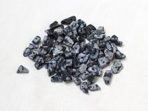 Obsidian χιονιού Στοκ Εικόνες