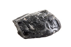 Obsidian close-up. Royalty Free Stock Photo
