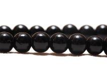 Obsidian Halsband Stock Foto's