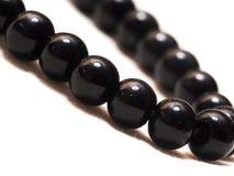 Obsidian-Halskette lizenzfreies stockfoto