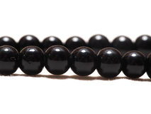 Obsidian-Halskette stockfotos