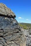 Obsidian Rotsen Stock Foto's