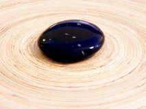 Obsidian steen Royalty-vrije Stock Afbeeldingen