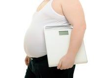 Obésité Images libres de droits