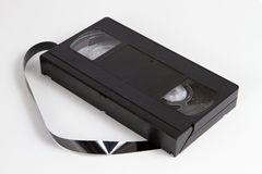 Obsolecent Video Cassette Royalty Free Stock Images