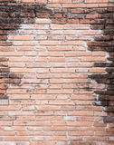 Obsolete brick wall. Royalty Free Stock Photos