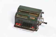 Obsolete calculator, old calculator. Stock Image