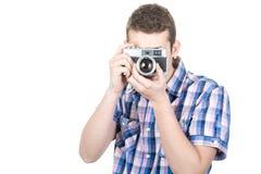 Obsolete camera Stock Photo