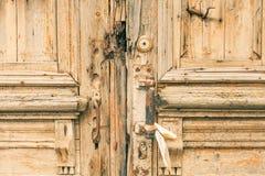 Obsolete door. Shot of a obsolete door Royalty Free Stock Photo