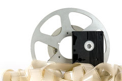 Obsolete film media Royalty Free Stock Photo