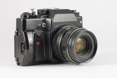 Obsolete Film SLR camera Royalty Free Stock Photos