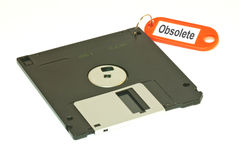 Obsolete floopy disk Royalty Free Stock Photos