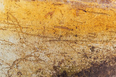 Obsolete grunge surface texture. With scratches and stains Royalty Free Stock Image